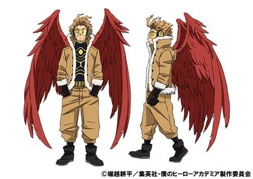 ฮอว์ค (Hawks) @ My Hero Academia: Boku no Hero Academia มายฮีโร่ อคาเดเมีย