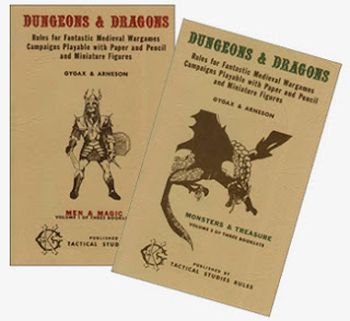 Dungeons & Dragons circa 1974