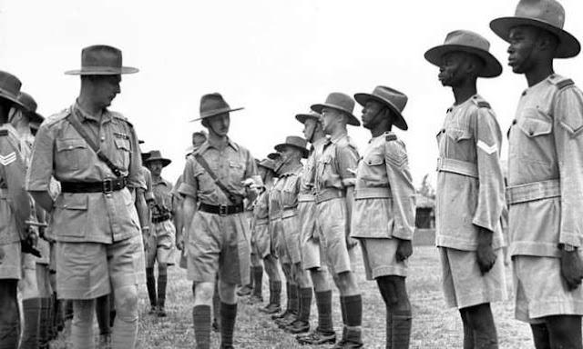 Nigerian Soldiers WW2