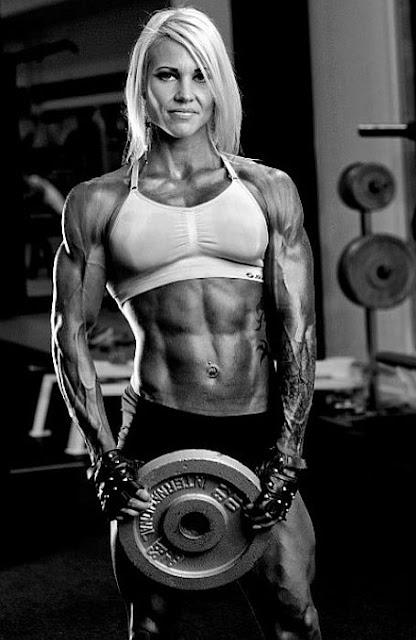 Heidi Vuorela - Finnish Female Bodybuilder