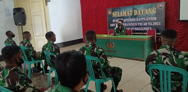 7 Orang Bintara Asal Papua Belajar Teritorial di Kodim Purbalingga