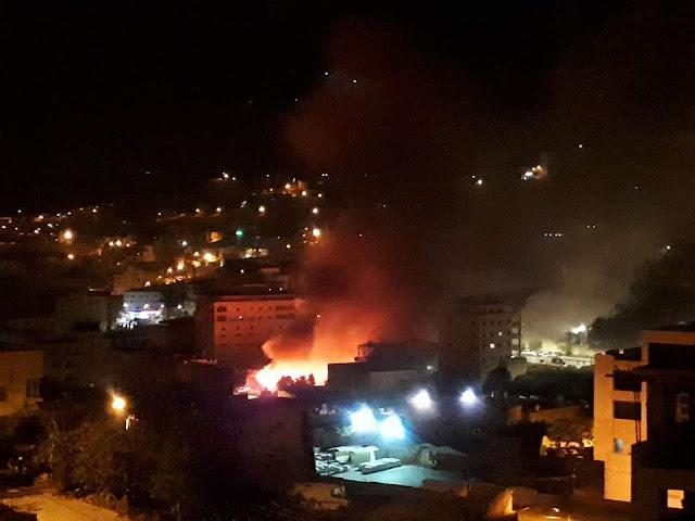 عاجل الأن : مصرع السيدة شروق عدوان وثلاثة من أطفالها فى حريق منزلها فى قرية صرة فى نابلس اليوم الجمعة 23/4/2021