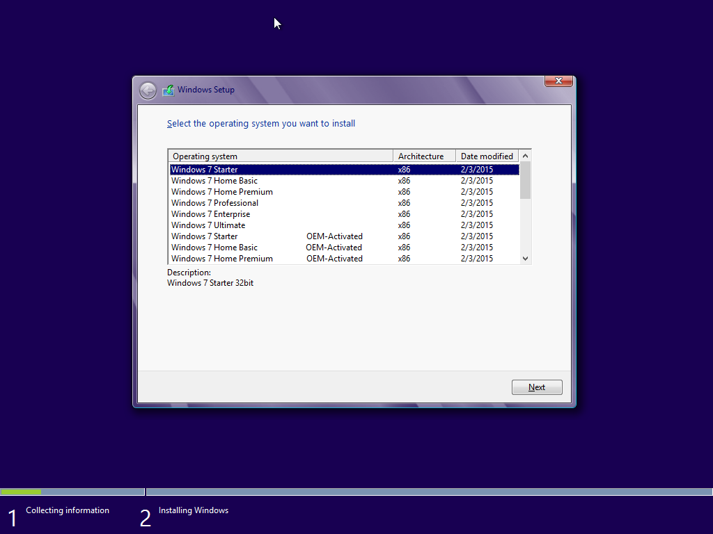 Windows 7 Ultimate SP1 AIO 22in1 ESD OEM 32bit 64bit
