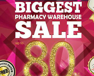 BIG Pharmacy Warehouse Sale 2016 & Health Awareness Campaign