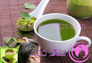 تجربتي مع الشاي الأخضر لتطويل وتنعيم الشعر