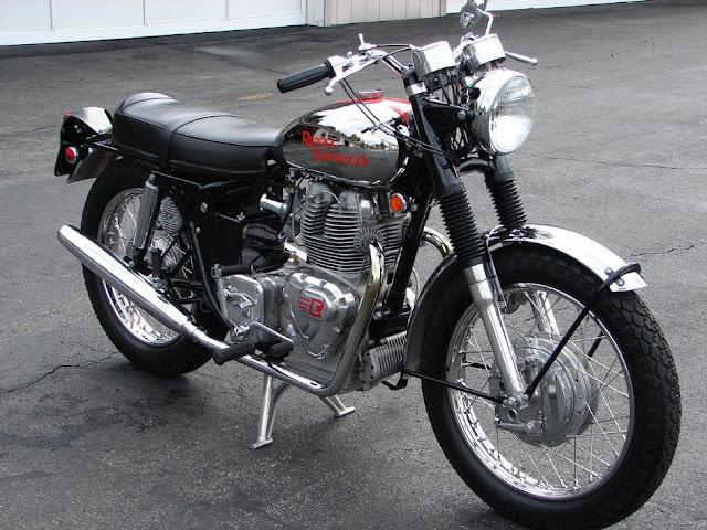 Royal Enfield Interceptor 750 British 1960s classic motorcycle