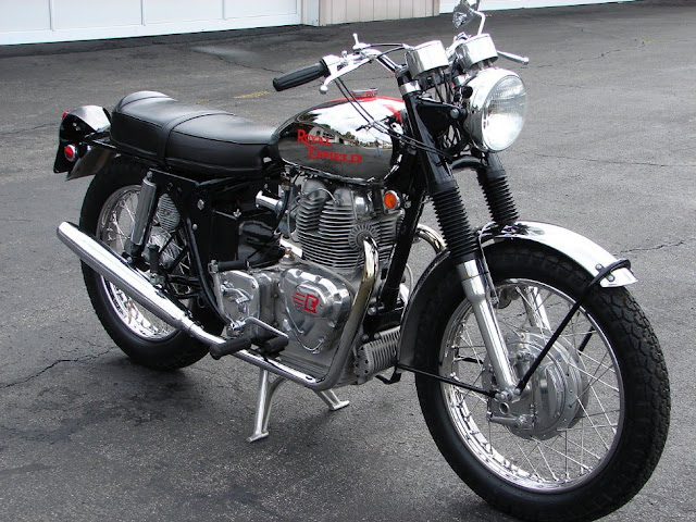 Royal Enfield Interceptor 750 1960s British classic motorcycle