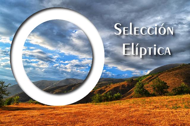 GIMP Selección elíptica