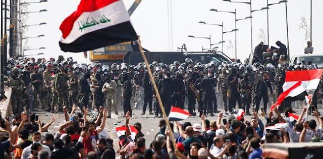 Ribuan Milisi Irak Bubar Setelah Dua Hari Kepung Kedubes AS
