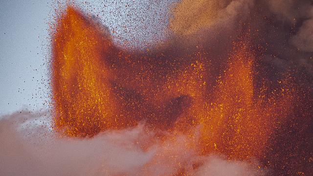 Έκρηξη στην Αίτνα 29 Αυγούστου 2021