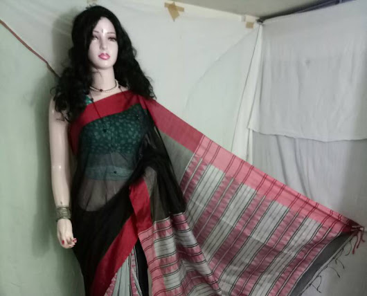 New Collection BIHU Silk Cotton Saree unique and earthy designs