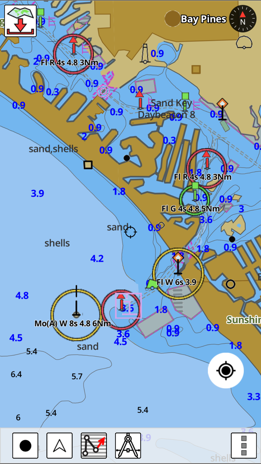 What Type Of Map Is Best Suited For Maritime Navigation : suited, maritime, navigation, I-Marine, Apps:, Nautical, I-Boating