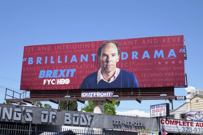 Brexit movie 2019 Emmy FYC billboard