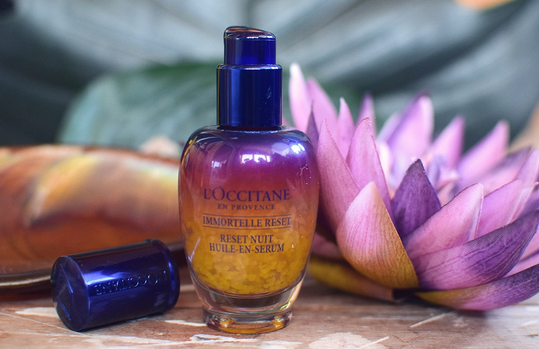 Test L'Occitane Immortelle Overnight Reset Öl in Serum