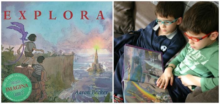 cuentos sorprendentes para fomentar la lectura, libro sin texto Explora Aaron Becker