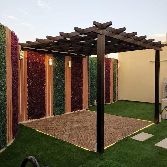 شركة تنسيق حدائق منزلية بحائل - تنسيق حوش المنزل في حائل وتركيب عشب صناعي بحائل