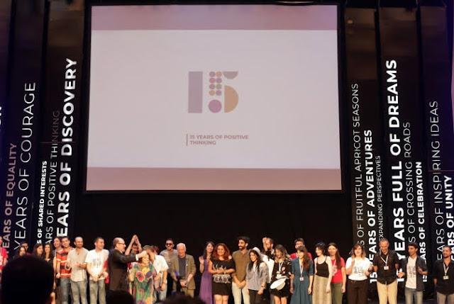 Lista de premiados del 15 ° Golden Apricot Yerevan Film Festival