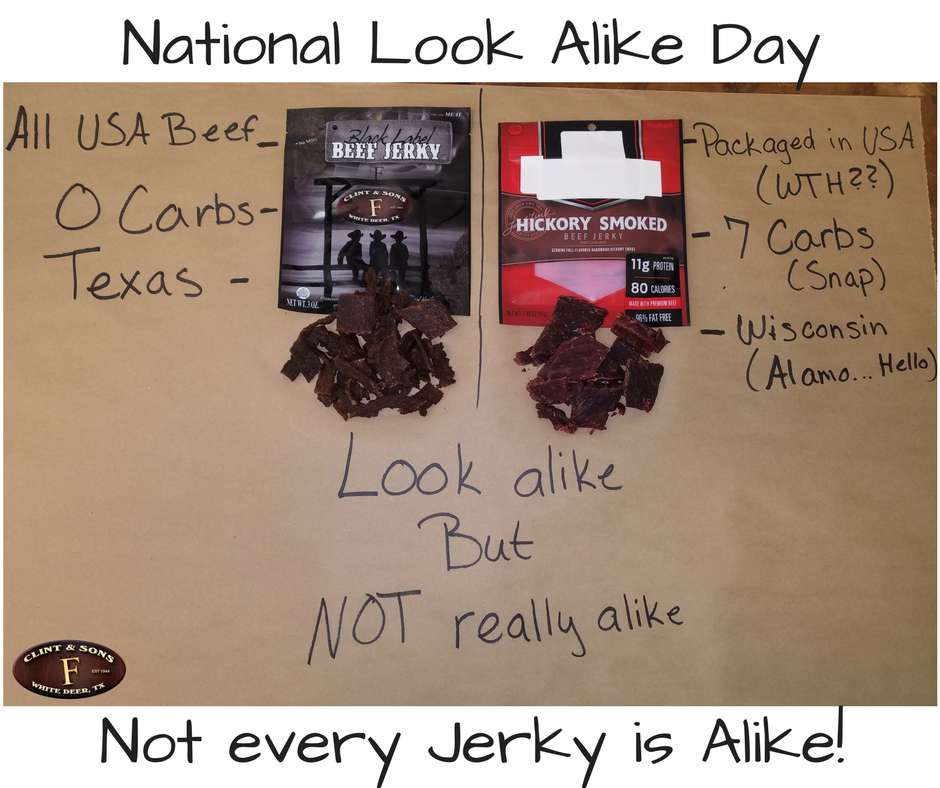 National Look-Alike Day Wishes Unique Image