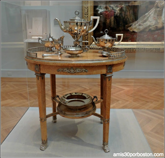 Legion of Honor: Tea Table de Fabergé