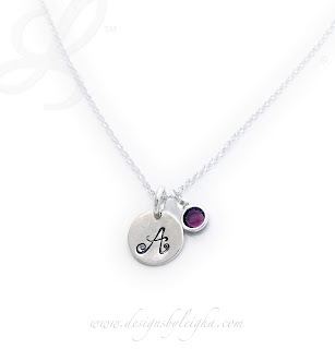 1 Initial Disks with 1 Birthstone Charm