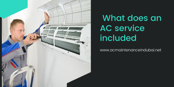What does an AC service included