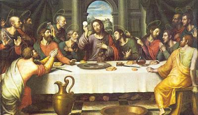 Pintura de la Ultima cena de Jesús