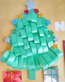 árbol-cartel-navideño-reciclando-cartón-y-goma-eva-creandoyfofucheando