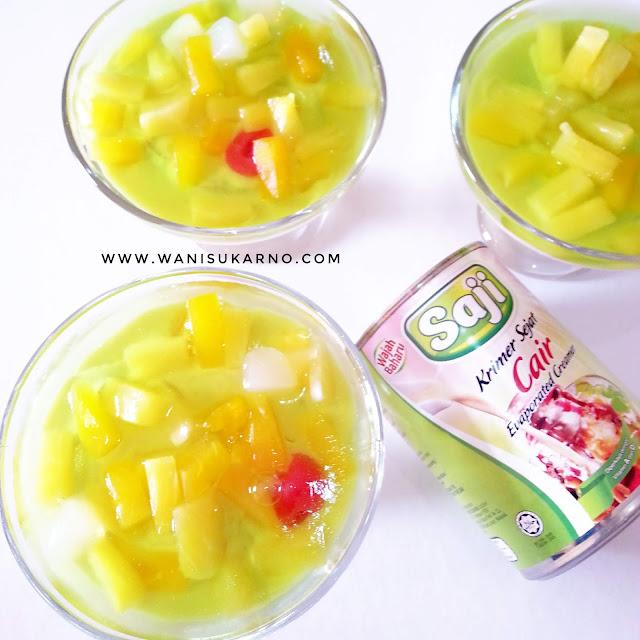 resepi puding trifle mudah dan sedap