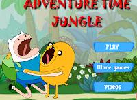لعبه فين وجيك في الغابه