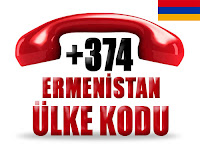 +374 Ermenistan ülke telefon kodu