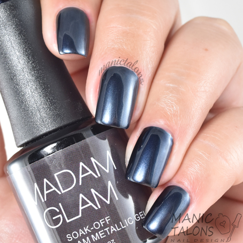 Madam Glam Metallic Gel Private Jet Swatch
