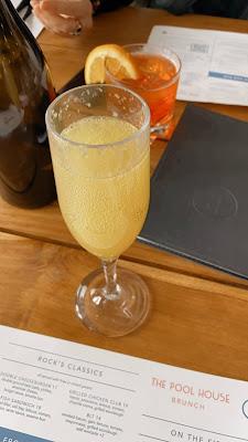 brunch, mimosas