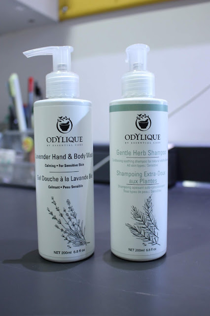 Tea Tree & Herb Shampoo, Lavender Hand/Body wash, odylique, odylique review, odylique blog review