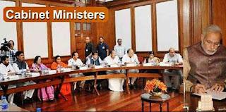 भारत के कैबिनेट मंत्रियों की सूची 2019
