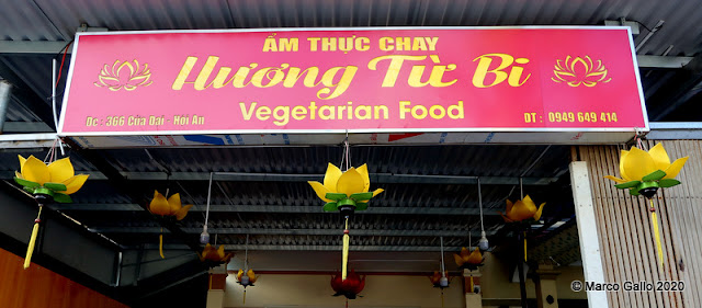RESTAURANTE VEGETARIANO Hương Từ Bi HOI AN, VIETNAM. Los precios los pones tú.