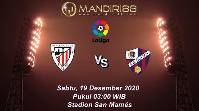 Prediksi Athletic Bilbao Vs SD Huesca, Sabtu 19 Desember 2020 Pukul 03.00 WIB