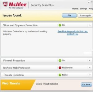 McAfee Security Scan Plus 3.11.717.1