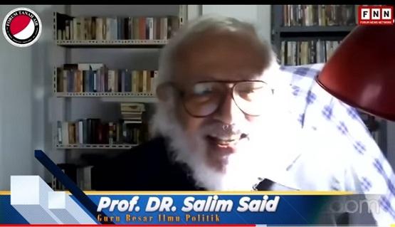 """Salim Said Contohkan Thailand, """"Kalau Sipil Tidak Bisa Mengelola Negara, Tentara akan Kembali ke Politik"""""""