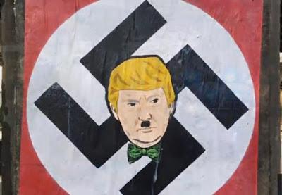 Donald Trump anti-Muslim anti-Mexican nazi racist xenophobia