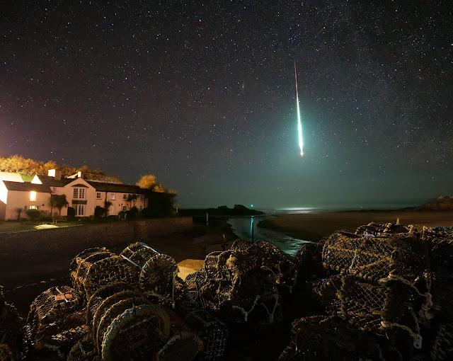 Meteor Over England - 21 Jan 2020 - Chris Small