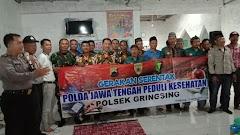 Polsek Gringsing Sosialisasikan Pencegahan Covid-19 Kepada PRRT Desa Sidorejo
