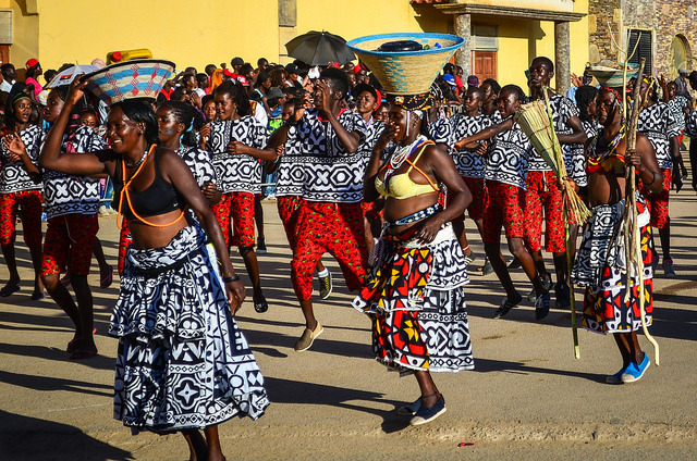 Países no Continente Africano: Angola