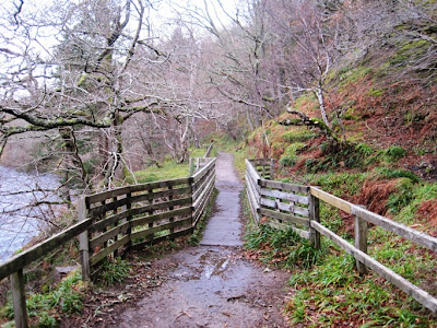 Deeside Walks: a bridge in the footpath for walkers near Ballater