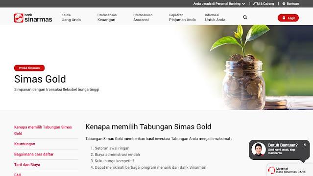 Biaya administrasi bank sinarmas