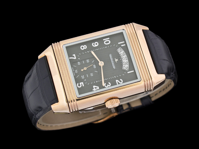 watch88  replica Jaeger Lecoultre Grande Reverso 986 Duodate Q3748420  Automatic Mens Watch 079f5169aab5