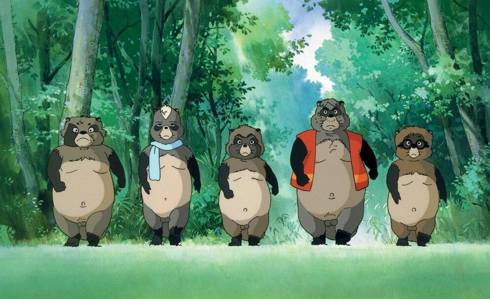 the tanuki raccoons of pom poko