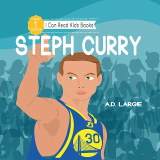 Stephen Curry kids books Age 5-7