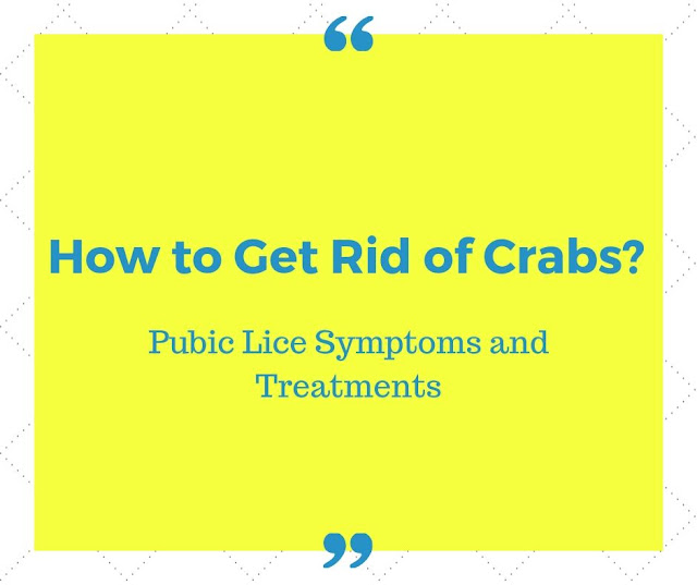 How to Get Rid of Crabs? Pubic Lice Symptoms and Treatments
