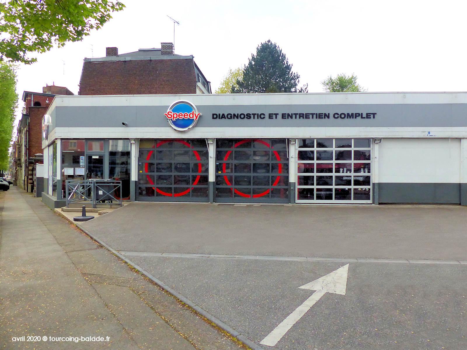 Garage Automobile Speedy, Tourcoing 2020.