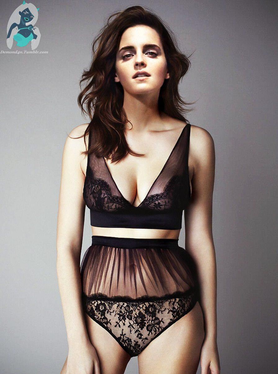 Emma Watson Hot Bikini, Bra, Lingerie Photos